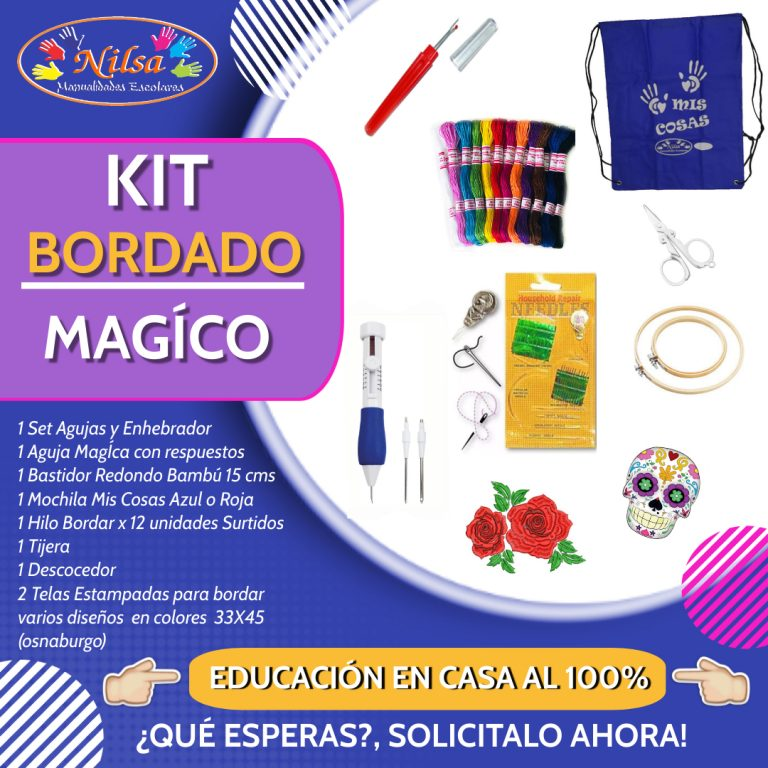 KIT BORDADO MAGICO