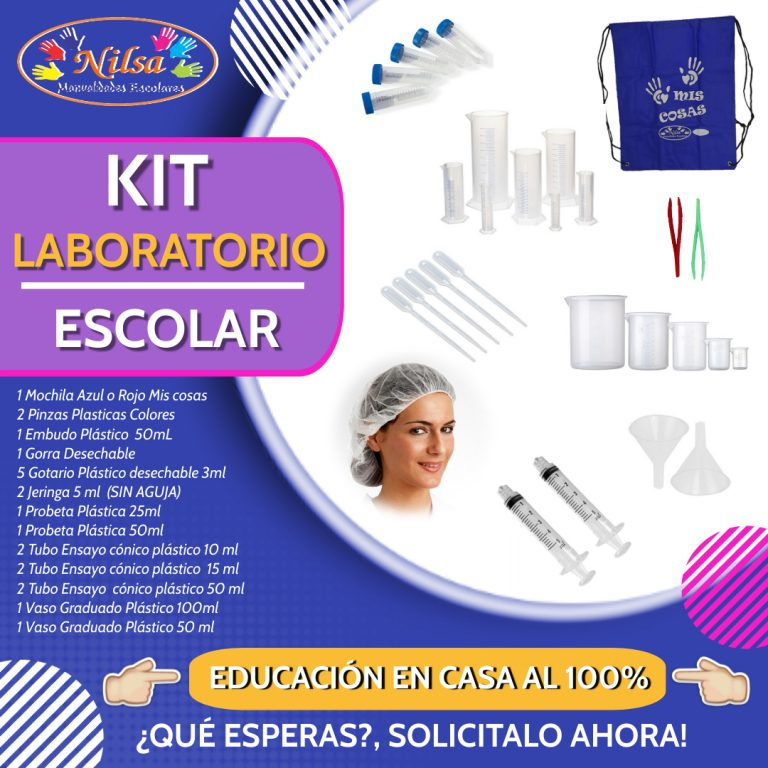 KIT LABORATORIO ESCOLAR