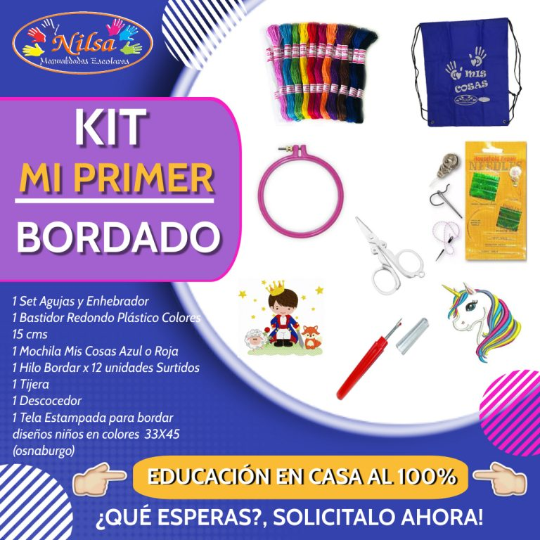 KIT MI PRIMER BORDADO