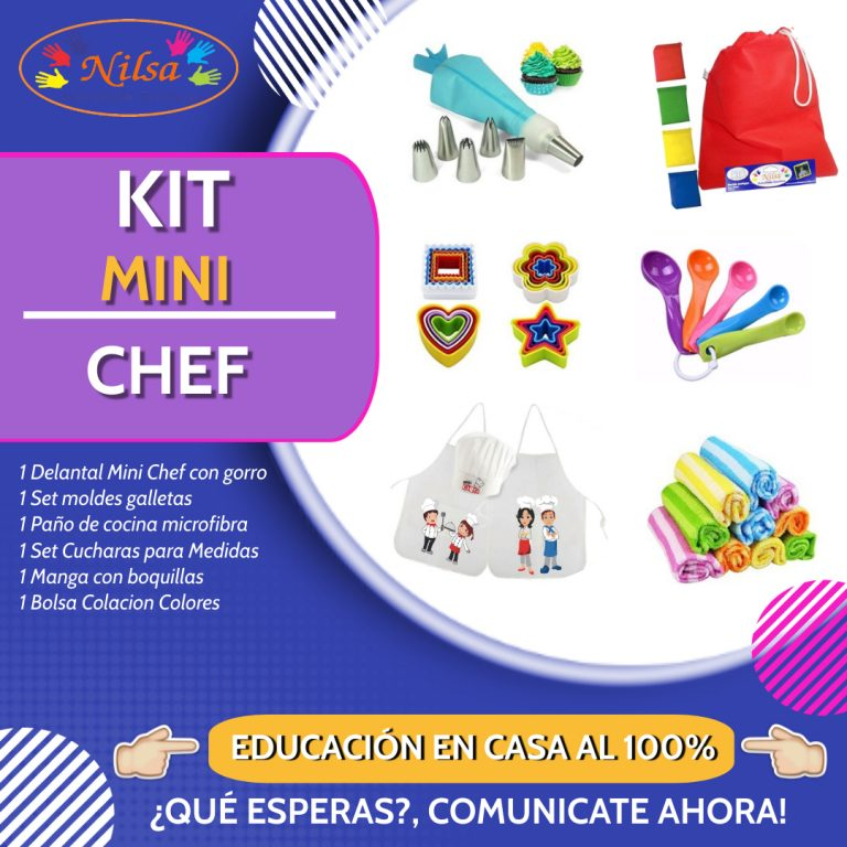 KIT MINI CHEF